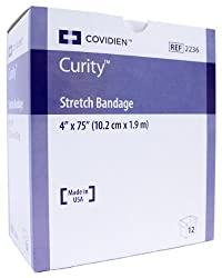 Curity 2236 Sterile Stretch Gauze Bandages 4 x 75 - Box of 12