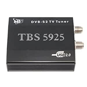 TBS®5925 Tarjeta sintonizadora de TV USB DVB-S2 Satélite Captura de Señales 16APSK/32APSK/ACM/VCM/MIS