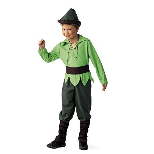 peter-pan-costume-children-complete-costume-5-piece-shirt-trousers-hat-belt-cuffs-9-11-jahre-by-elbe