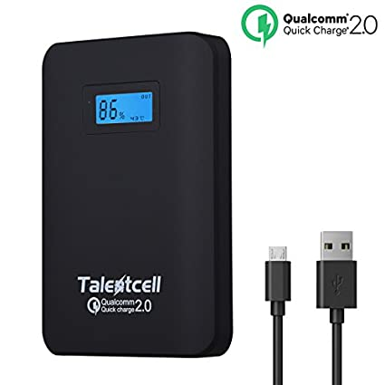 TalentCell 10400mAh Power Bank