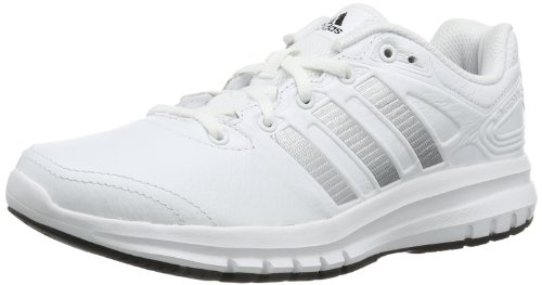 Adidas Performance Womens Duramo 6 LEA W-8 Running Shoes D66858 Running White FTW/Metallic Silver/Black I 4.5 UK, 37 EU