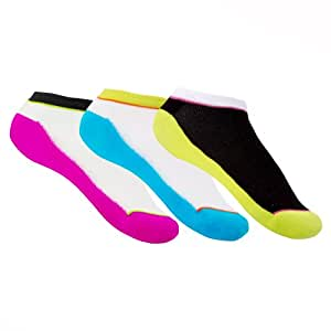 Zumba Fitness Funk-It-Up Pack de 3 chaussettes