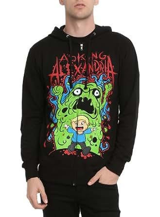Amazon.com: Asking Alexandria Blob Hoodie 2XL Size : XX-Large