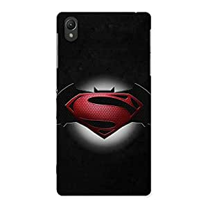 Delighted Knight Rivals Back Case Cover for Sony Xperia Z2