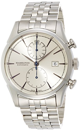 Hamilton-Mens-Timeless-Classic-Swiss-Automatic-Stainless-Steel-Casual-Watch-ColorSilver-Toned-Model-H32416981