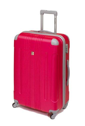 Koffer Trolley Reisekoffer Hartschale 50 cm Fuchsien-Pink