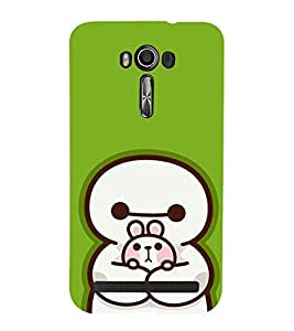 EPICCASE Cute Teddy cover Mobile Back Case Cover For Asus Zenfone 2 Laser ZE550KL (Designer Case)