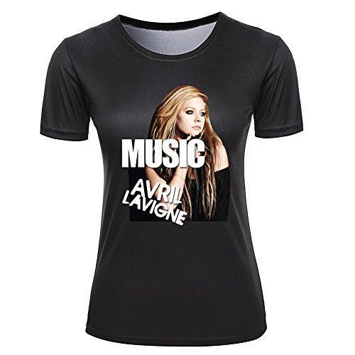 Music Avril Lavigne Personalised T shirt for Women M