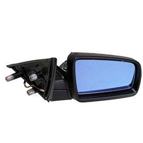 5-Series 04-10 Rear View Mirror Rh, Power, Heated, W/ Blue Glass, W/O Electrochromic, Primed, Spain Built Right Passenger Side