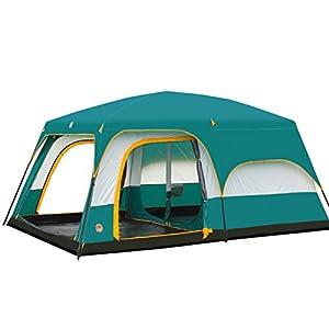 (アスボーグ)ASVOGUE アウトドア 6-12 人用 防水デザイン キャンプ テント