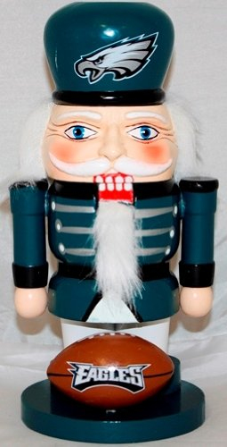 Philadelphia Eagles NFL 7'' Elite Nutcracker at Amazon.com