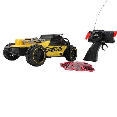 49 Mhz R/C Battle Machines Rapid Fire Battle Buggy Yellow (Battle Machines compare prices)