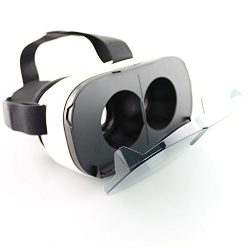 3D Glasses, ELEGIANT Virtual Reality Box Full HD Stunning Ultra-realistic Headset Game Cinema Home Theatre Helmet for 4.0 - 6.5 Inch Cell Phone