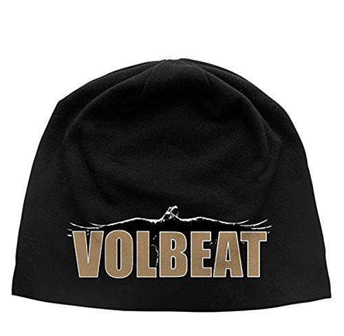 Volbeat Raven Logo Beanie/Berretto nero taglia unica
