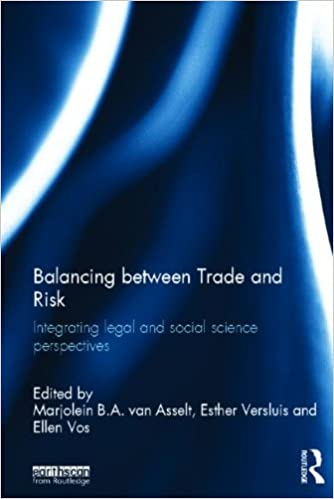 Van Asselt MBA, Versluis E & Vos E (eds.) Balancing between Trade and Risk, Integrating Legal and Social Science Perspectives Image
