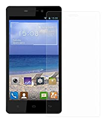 Gionee Ctrl V4S Tempered Glass Screen Protector with OTG Cable (TEMPERED GLASS + OTG CABLE) COMBO by DRaX®