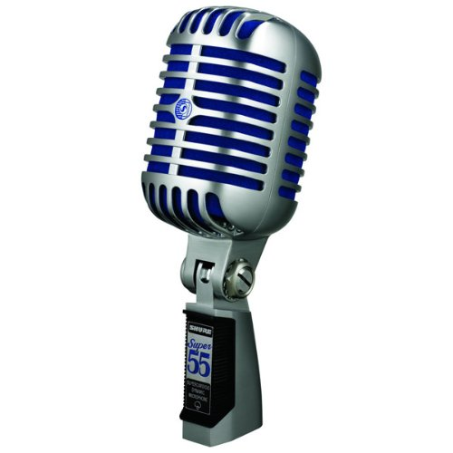 Shure Super 55 Deluxe Vocal Microphone Supercardioid