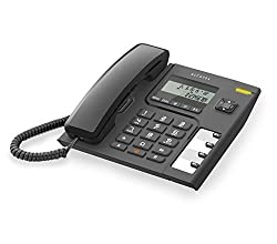 Alcatel T56 corded phone with contemporary design