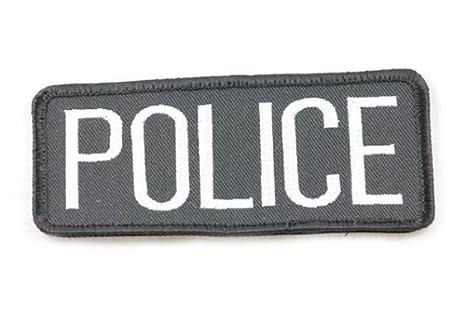 Tactical Vest Patches Police Velcro Vest Patch 4.25