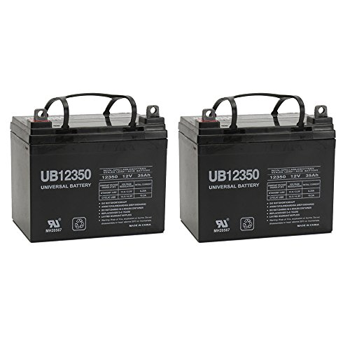 UPG UB12350 (Group U1) Battery - Universal Battery - 12V 35Ah - 2 Pack (Electric Chairs compare prices)