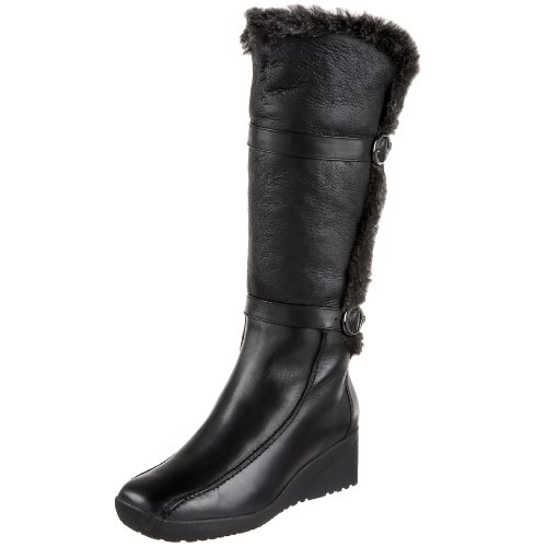 Blondo Women's Comina Winter Boot,Black Nativo Napa Sherling,7.5 M US