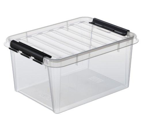 Hammarplast Clipbox Smart Store Classic 15 3508390 - Scatola/contenitore porta oggetti, colore: trasparente