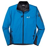 JACK WOLFSKIN Electron Softshell Men's Jacket, Blue, M