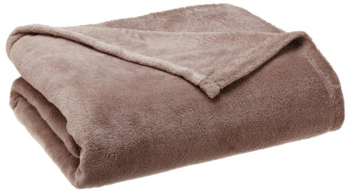 Northpoint Hotel Collection Therma Plush Blanket, Full/Queen, Camel front-890936