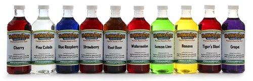 Healthy! Hawaiian shaved ice syrup seems