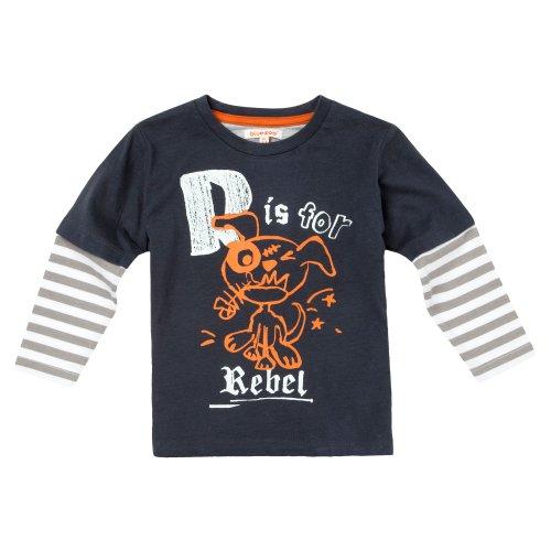 bluezoo Boy's Grey 'Rebel' Top