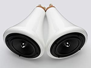 Joey Roth CRM-001 Ceramic Speakers (Pair, White)