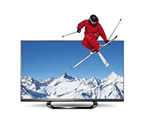 LG 55LM640S 139 cm (55 Zoll) Cinema 3D LED Plus Backlight-Fernseher (Full-HD, 400Hz MCI, DVB-T/C/S2, Smart TV) schwarz