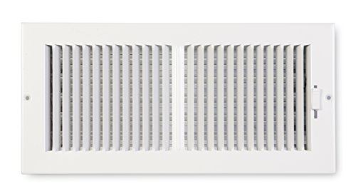 Accord ABSWWH2144 Sidewall/Ceiling Register with 2-Way Design, 14-Inch x 4-Inch(Duct Opening Measurements), White (14x14 Air Register compare prices)