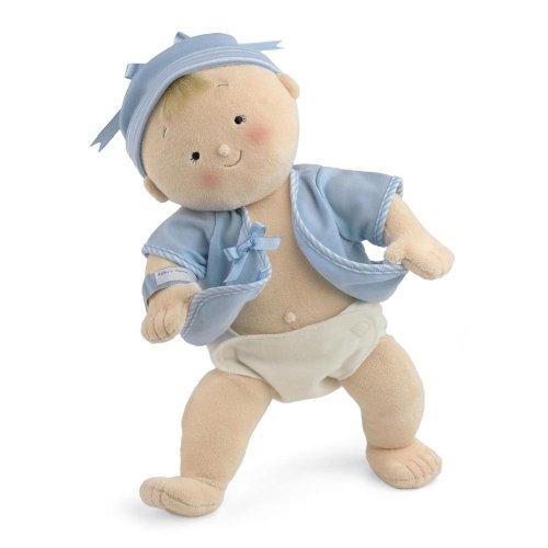 North American Bear Company Rosy Cheeks Baby Blonde Boy