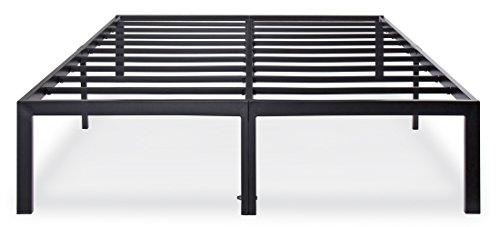 New Olee Sleep Heavy Duty Steel Slat Bed Frame T-3000 OL14BF04F, Full