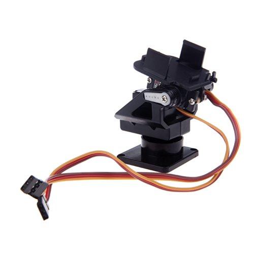 Andoer Caméra en plastique PT Kit Pan / Tilt Plateforme Mont Anti-Vibration pour FPV RC