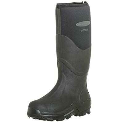 The Original MuckBoots Adult Muckmaster Hi-Cut Boot,Black,5 M US Mens/6 M US Womens