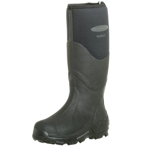 The Original MuckBoots Adult Muckmaster Hi-Cut Boot,Black,Men's 11/11.5 M/Women's 12/12.5 M