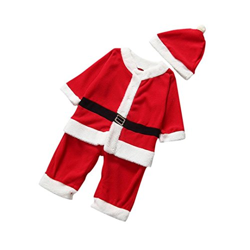 DDLBiz Boys Girls Koala Kids Infant Santa Claus Suit Christmas Gift