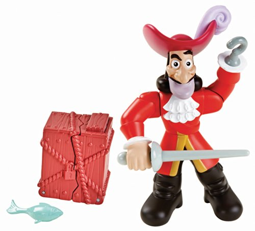 Fisher-Price Jake and The Never Land Pirates Action Figure Pack - Hook - 1