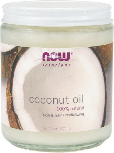 Now Foods Coconut Oil Pure, 7oz ( Multi-Pack)