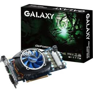 Galaxy GeForce GTS 250 1 GB GDDR3 PCI Express 2.0 DVI/HDMI/VGA SLI Ready Graphics Card, 25SGF6HX1RUV