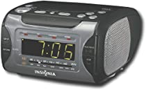 InsigniaTM CD Stereo Clock Radio with AM/FM Tuner