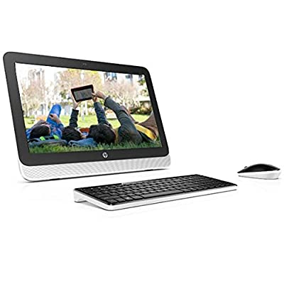 HP 20-R141IN All-in-One Desktop (Core i3-4170T/4GB/1TB/Windows 10/Integrated Graphics)