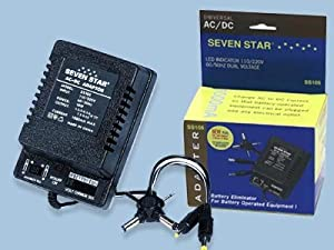 Universal AC/DC Adapter 110/240V 50/60hz 1000ma