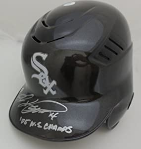 Paul Konerko Autographed Chicago White Sox 2005 World Series Signed Baseball Helmet by Powers+Collectibles
