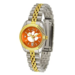 Clemson Tigers NCAA AnoChrome Executive Ladies Watch by SunTime