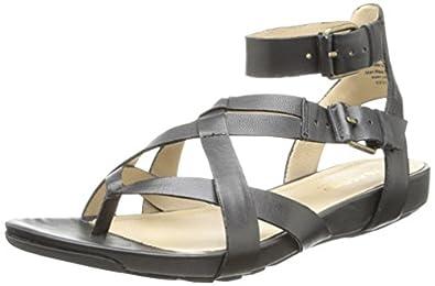 Kenneth Cole REACTION Women's Park Bench 2 Dress Sandal,Black,5 M US