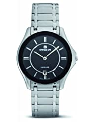 Hanowa Men's 16-5015.6.04.007 Ascot Black Dial Two-Tone Steel Watch