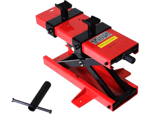 Great Deal! 1100 lb Motorcycle Dirt Bike ATV Scissor Center Floor Jack Mini Lift Stand Plate Repair ...